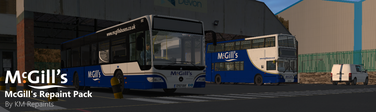 McGill's Repaint Pack | Virtual Bus