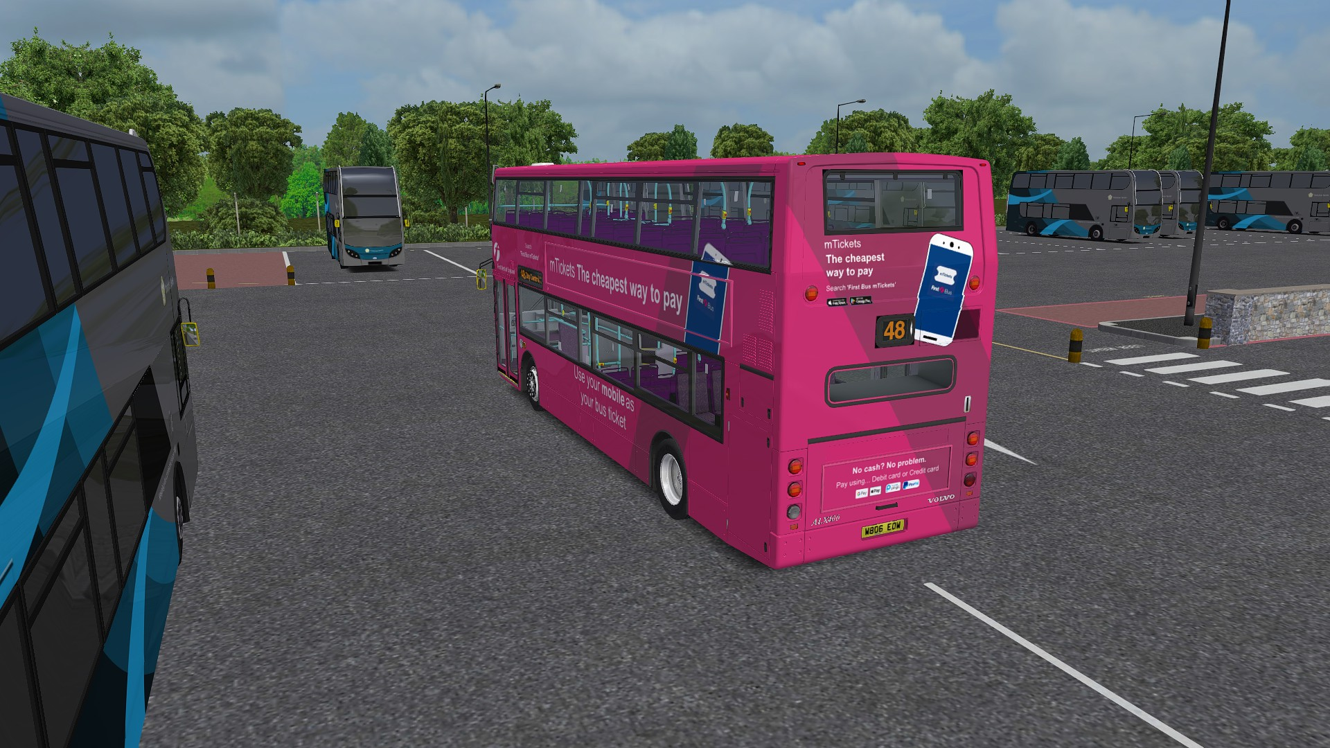 Beta] First Bristol (West of England) Repaint Pack for Volvo