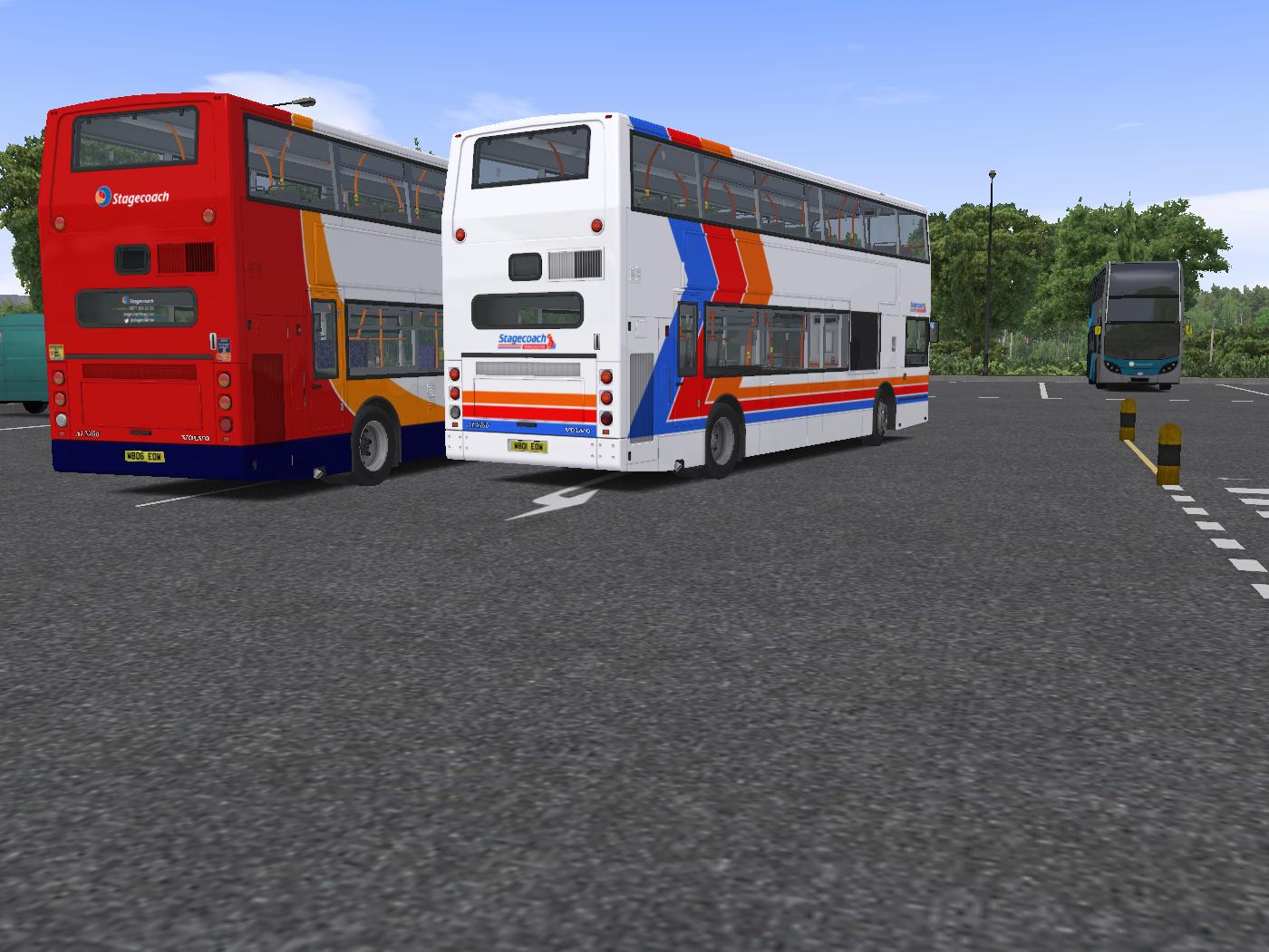 Stagecoach Repaint Pack V3D's Volvo B7TL ALX400 | Virtual Bus