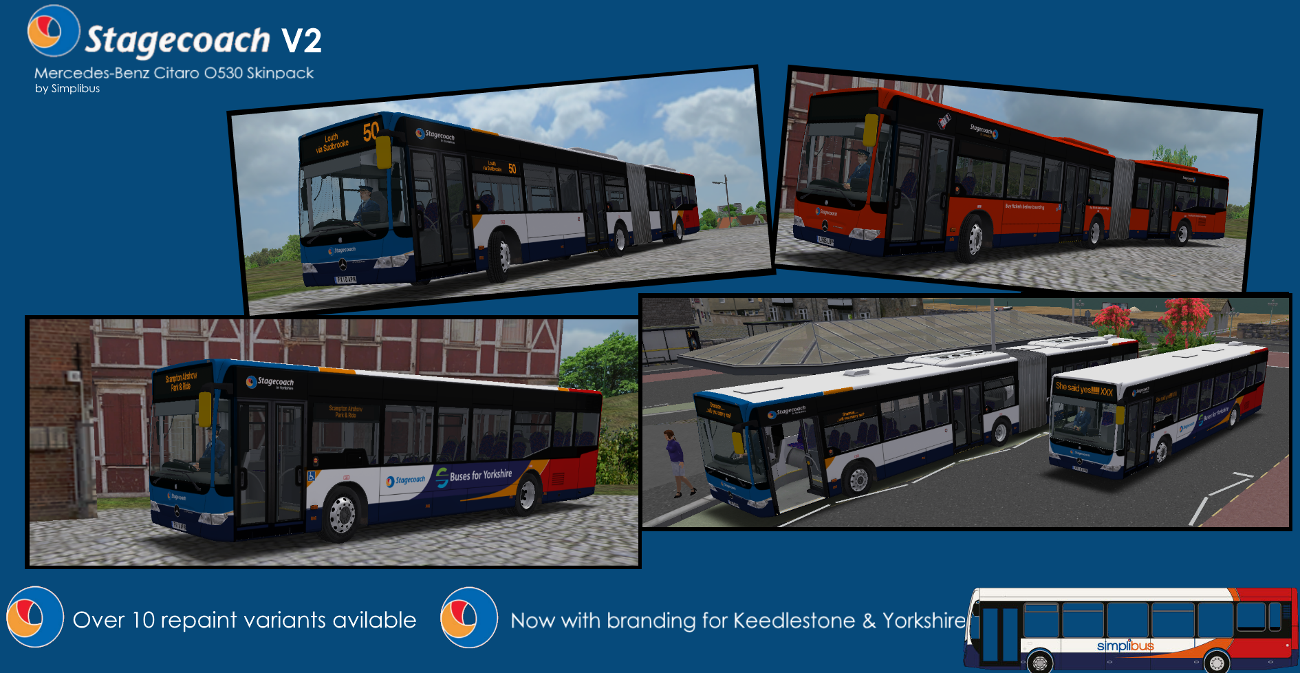 Stagecoach Mercedes-Benz Citaro O530 | Virtual Bus