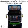 Stagecoach Cross Pennine E400MMC Repaint