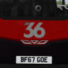 Wrightbus Registration Plates for the Wright Streetdeck/Gemini 3 (MS Gen 3 Pack)